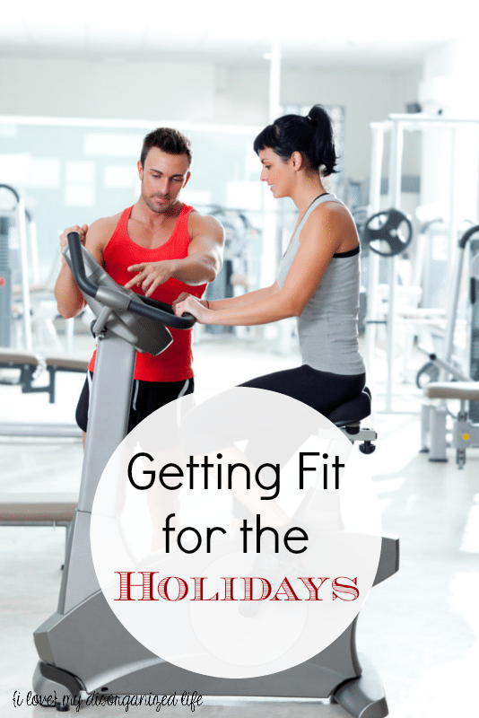 Getting fit for the holidays doesn't have to be painful; set realistic goals and go at your own pace