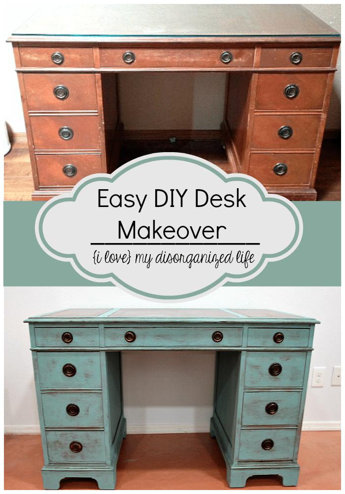 Best Easy DIY Desk Makeover MX74