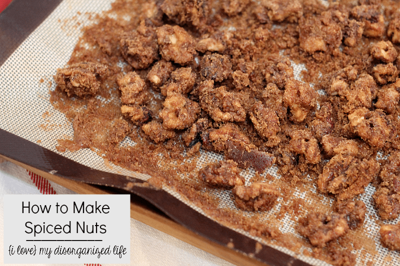 Have you ever wondered how to make spiced nuts? You know, the ones with the deliciously thick, sweet, crunchy coating? It's easier than you think!