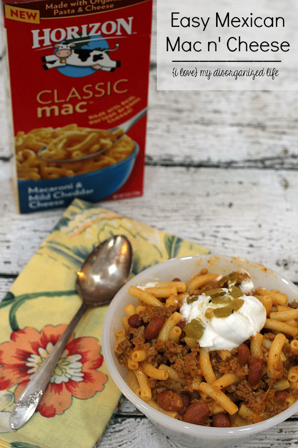 Looking For Quick And Easy Dinner Recipes This Mexican Mac N Cheese Is