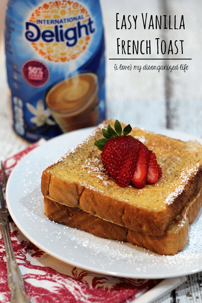 Easy vanilla french toast international delight recipes with just one simple ingredient you can give your french toast a fabulous french vanilla forumfinder Gallery