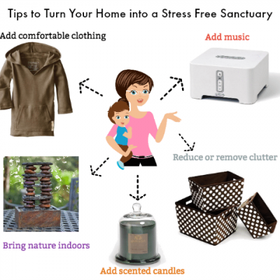 Tips to turn your home into a stress free sanctuary
