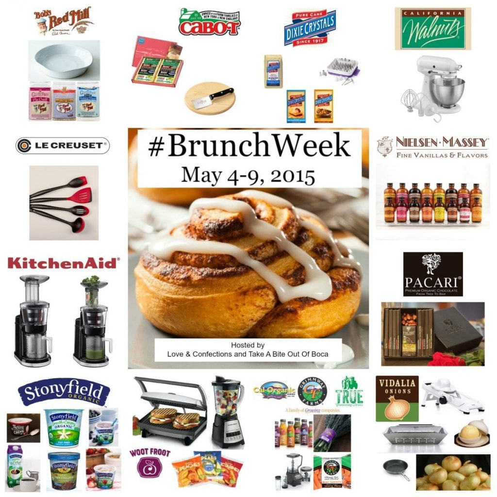 Fabulous #BrunchWeek prizes!