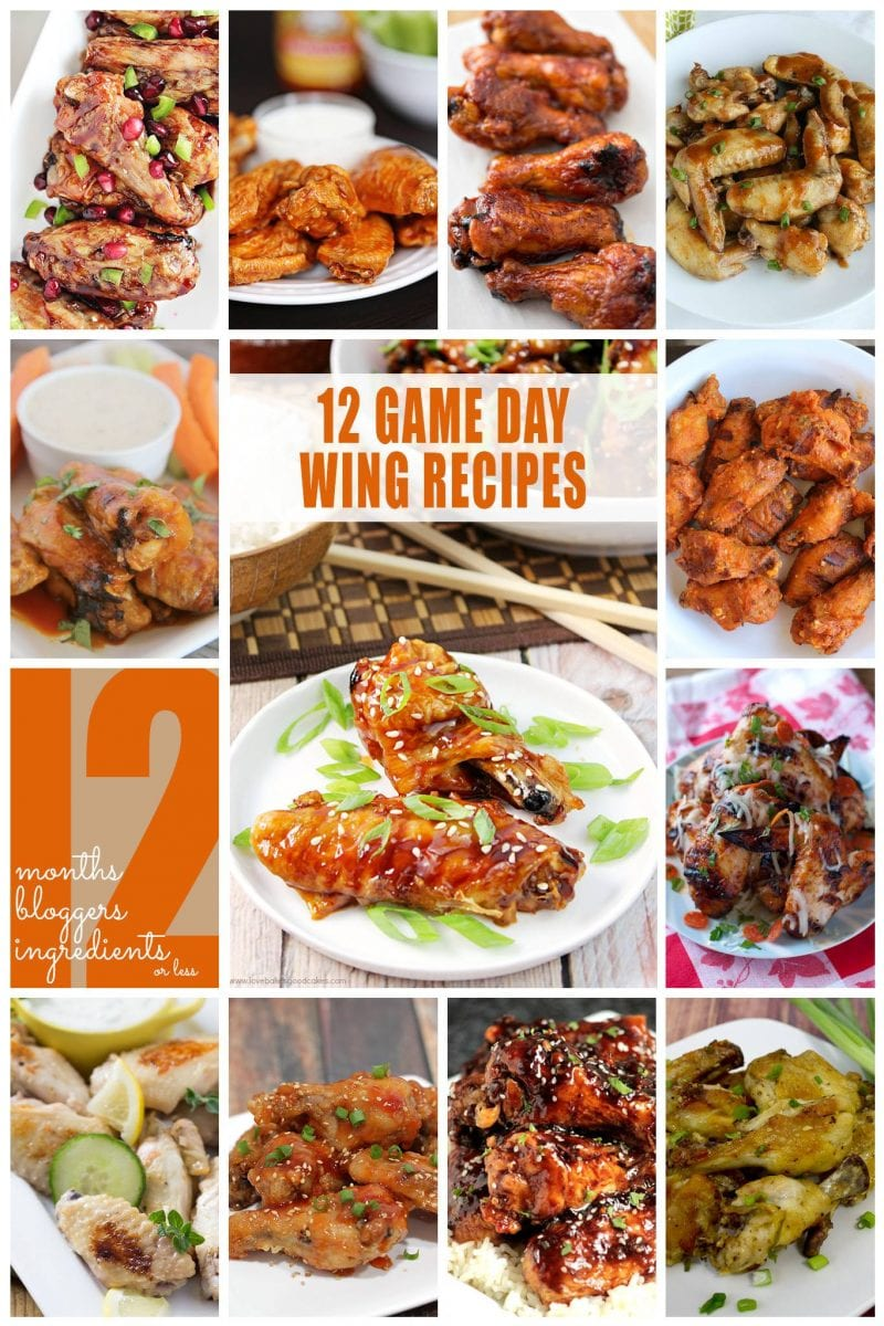 Sweet and sour chicken wings i love my disorganized life 12 fantastic game day chicken wings recipes including sweet and sour chicken wings forumfinder Choice Image