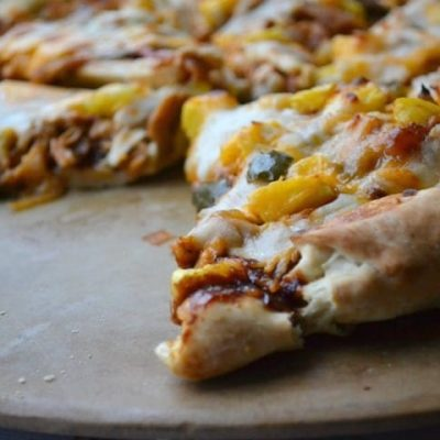 If you like the idea of your Hawaiian Pizza getting cozy with your favorite BBQ Chicken Pizza, give this recipe a try soon and enjoy the fantastic sweet and savory combination of flavors.