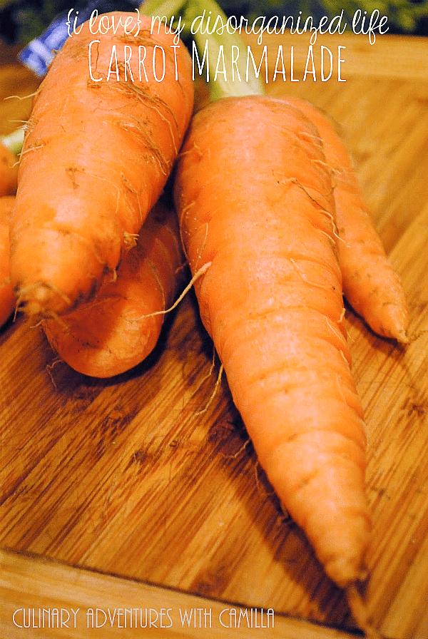 Carrot Marmalade | {i love} my disorganized life