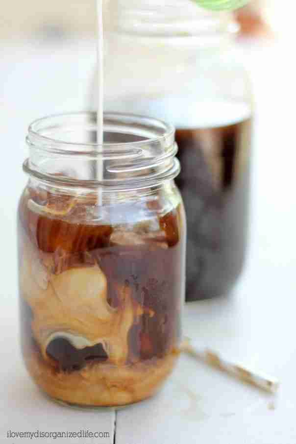 Ever wonder how to make cold brew coffee at home? With just two ingredients, a glass jar and a strainer, it couldn't be easier!