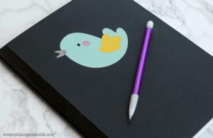 Creating a Custom Journal Using Cricut Explore Air 2