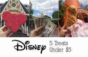 5 Disney Treats Under 5 Dollars