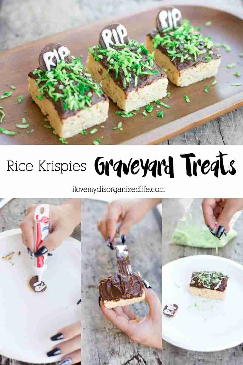 Rice Krispies Graveyard Treatsare quick and easy to make, perfect for creating with your favorite little ghouls! No baking or cooking, just pure fun!