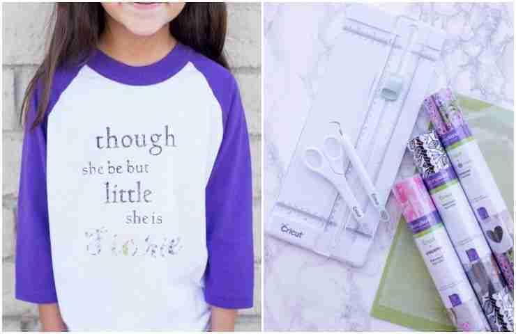 efe295cf70f Inspirational Girls T-Shirts Using Your Cricut Machine