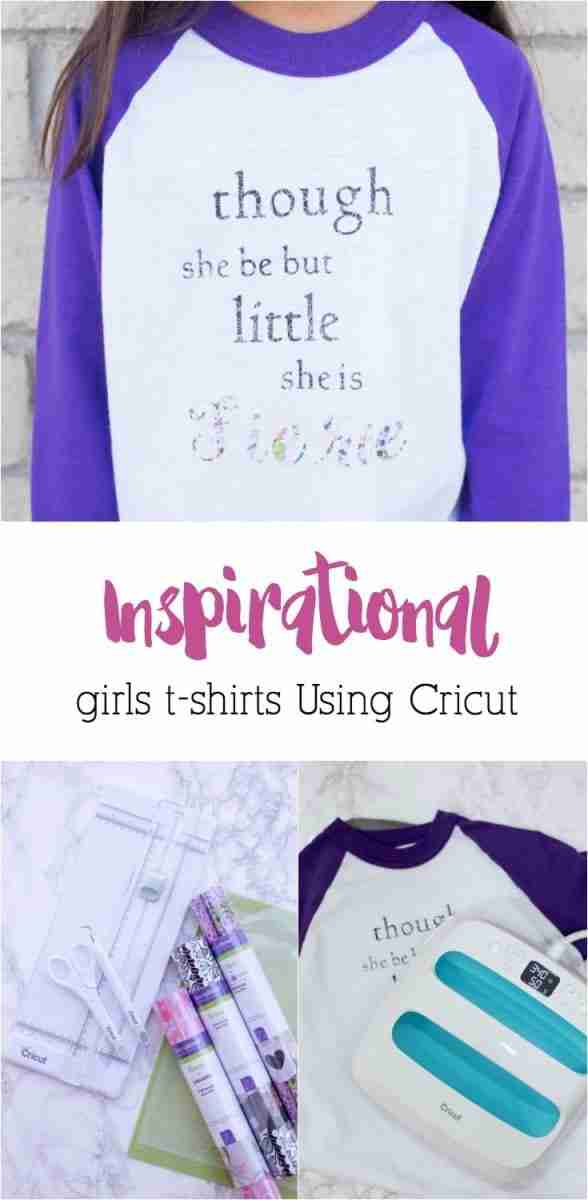 Inspirational girls t-shirts are a great way to spread love and positive messages. Plus, using your Cricut machine means they're super easy to make!