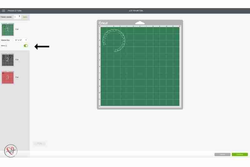 Joy tote cutting mats in design space screen shot