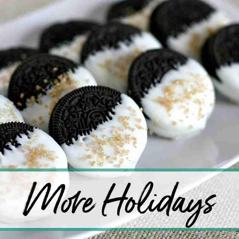 Easy Holiday Recipes More Holidays